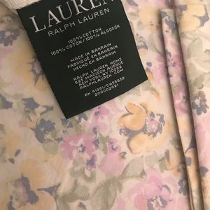 Ralph Lauren king Duvet w pillowcases